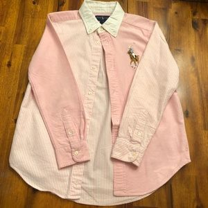 Long sleeve Big Pony polo shirt